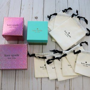 Kate Spade Jewelry Bags and boxes!